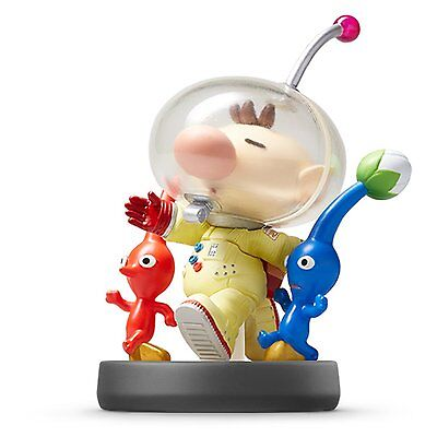 Amiibo Nintendo Pikmin   Olimar Pikmin Wii U 3Ds