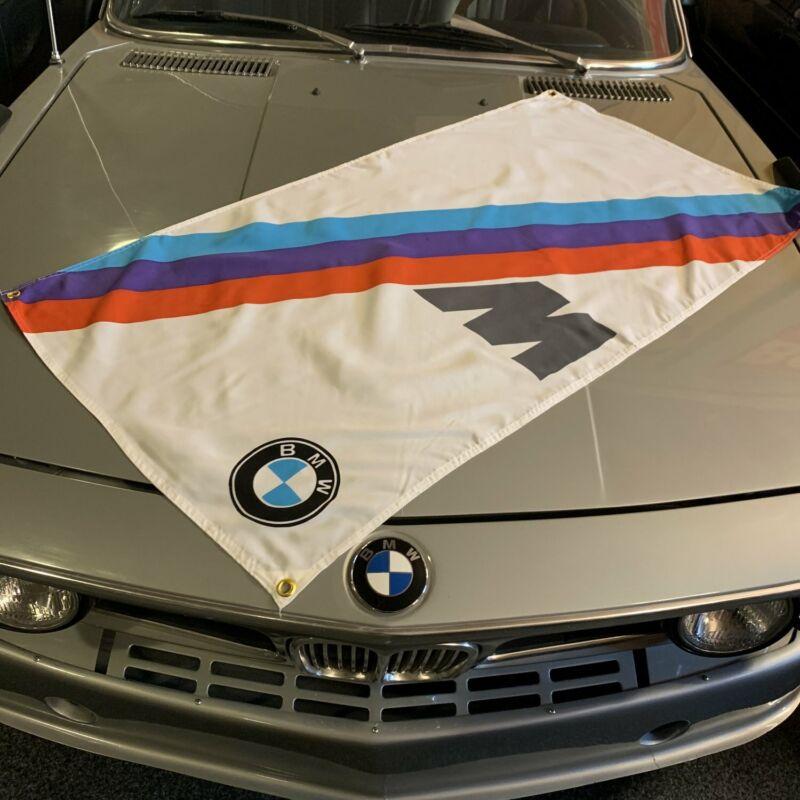 BMW /// M Vertical Banner M2 2.5l turbo f92 f80 v8 3.5l M1 M6 f82 lemans 6.0l M3