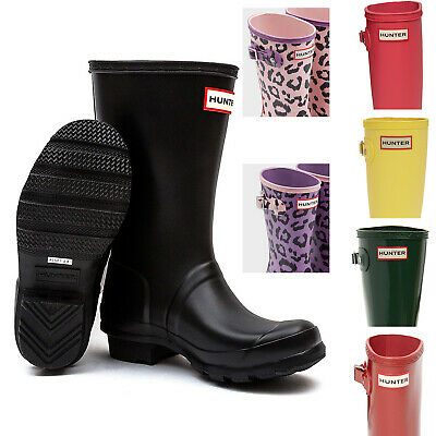 Hunter Boots Child (Kids Hunter Boots Waterproof Rain Boot Boy Girl Youth Size Boots)