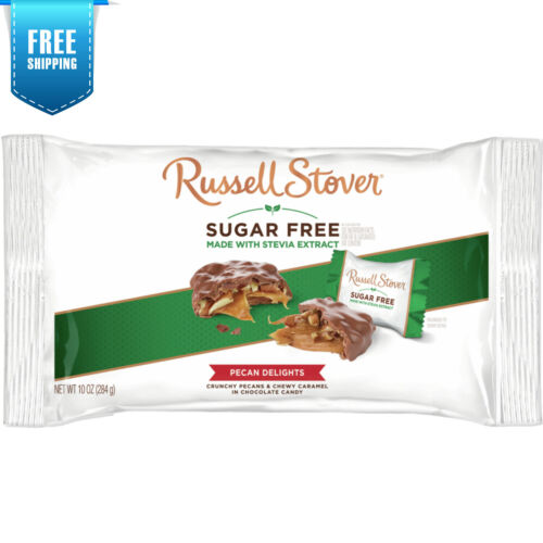 Russell Stover Sugar Free Pecan Delights with Stevia 10 oz. Bag