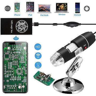 40-1000x Endoscope Usb Camera Digital Microscope Magnifier For Phone Windows Mac
