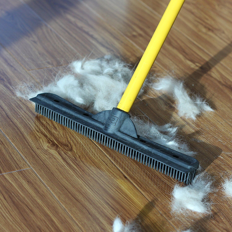 Rubber broom for pet hair flex 3401 vrg
