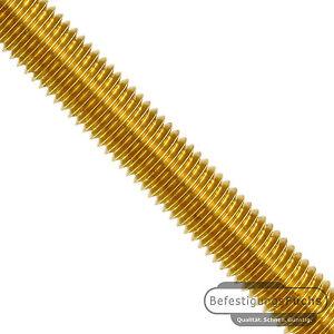 1 Gewindestange DIN 975 Messing M2 x 1000mm