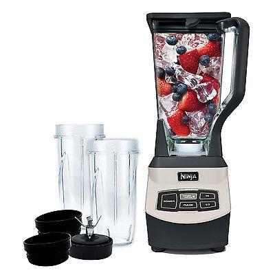 Ninja Professional 1000 Watt Blender w/Nutri Cups, BL661 (Certified Refurbished)