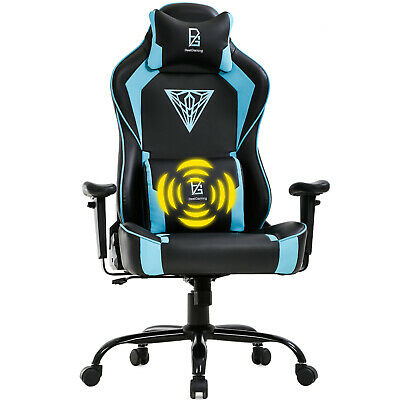 PC Gaming Chair Big and Tall Office Chair 400lb Wide Seat Ergonomic Racing
