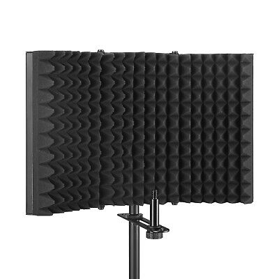Aokeo AK-403 Fold Design Microphone Isolation Shield, Sound Absorbing Foam Panel