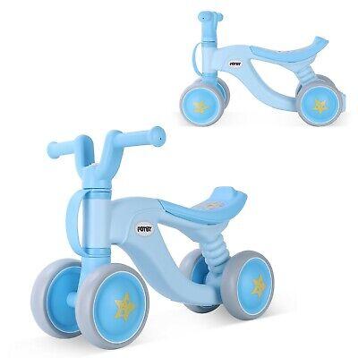 Blue Baby Balance Bikes Bicycle Children Walker Toddler Bike 12-36 Months Toys 1