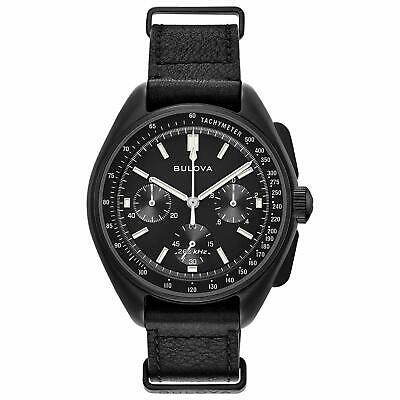 Bulova Men's 98A186 Special Edition Lunar Pilot Chronograph Moon Watch