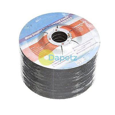 10 Paquete Metal Disco Amoladora 115mmx 22.2mmx 6mm Discos Hundido Centro Ángulo