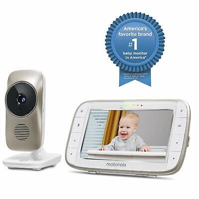 "Motorola 5"" Video Baby Monitor with Wi-Fi Viewing MBP845CONNECT"