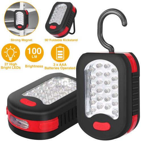 24+3 LED Emergency Tent Light Flashlight Magnet Hanging Hook