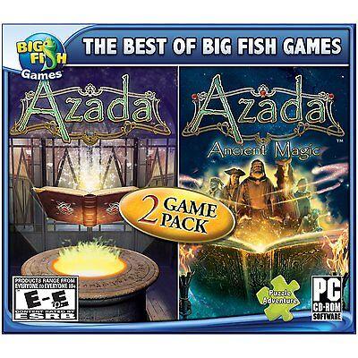 Computer Games - Azada 2 Game Pack PC Games Windows 10 8 7 XP Computer hidden object seek find
