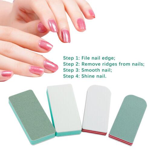10PCS Buffing Buffer Block Files Acrylic Pedicure Sanding Manicure Nail Art Tips Health & Beauty