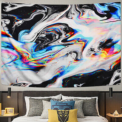 Abstract Painting Colorful Wall Tapestry Wall Hanging Trippy Tapestry Decor
