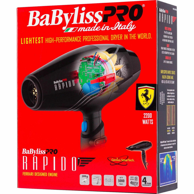 BabylissPro 2000 Watt, Rapido Dryer