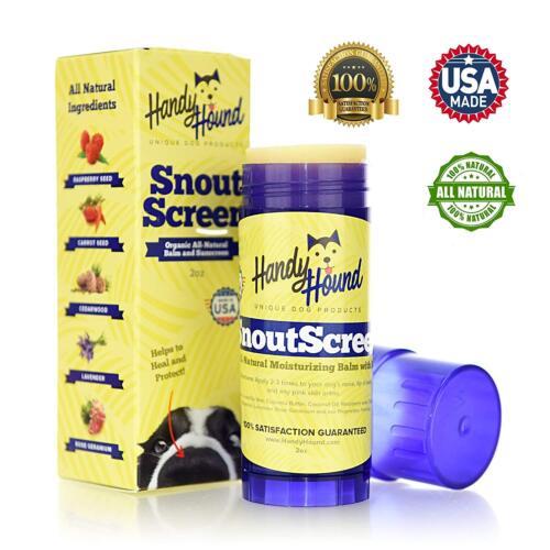 Handy Hound SnoutScreen   Nose Balm   Moisturizing All Natural Sunscreen