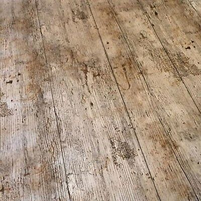 Brown Wood Floor Effect Pvc Vinyl Table Cloth Modern Indoor Outdoor Rustic Look - Rustic Table Cloth