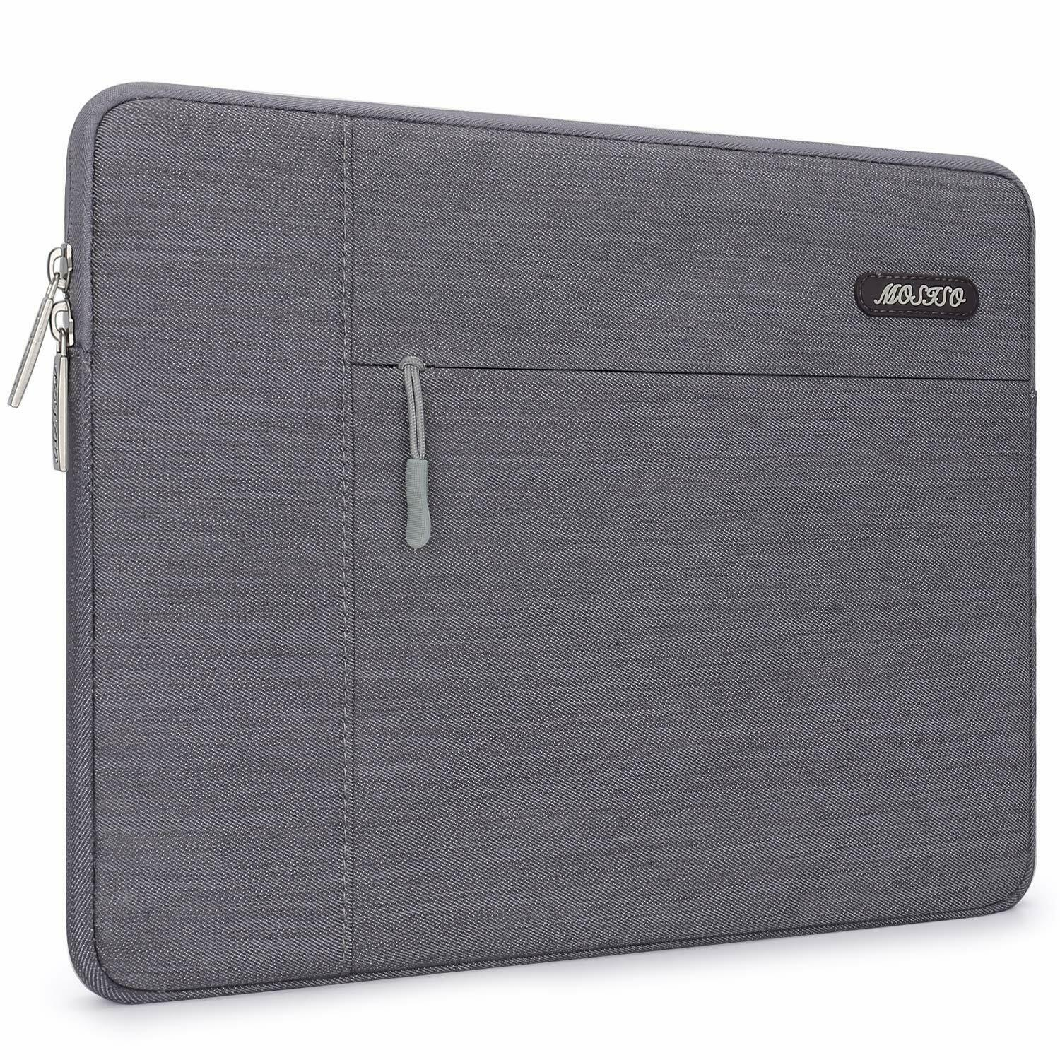 Mosiso Laptop Denim Sleeve Bag Case for Macbook 11 13 15 inc