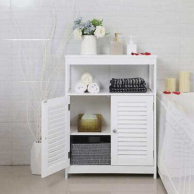 Bathroom Floor Storage Cabinet Standing Cabinet Cupboard with Door in Bedroom