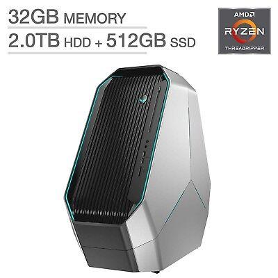 Alienware Area 51 Gaming Desktop Amd Ryzen Threadripper 1920X    Dual 8Gb Nvidia