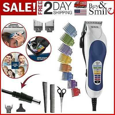 WAHL Professional Clippers Barber Haircut Set Beard Trimmer Men Hair Cutting Kit
