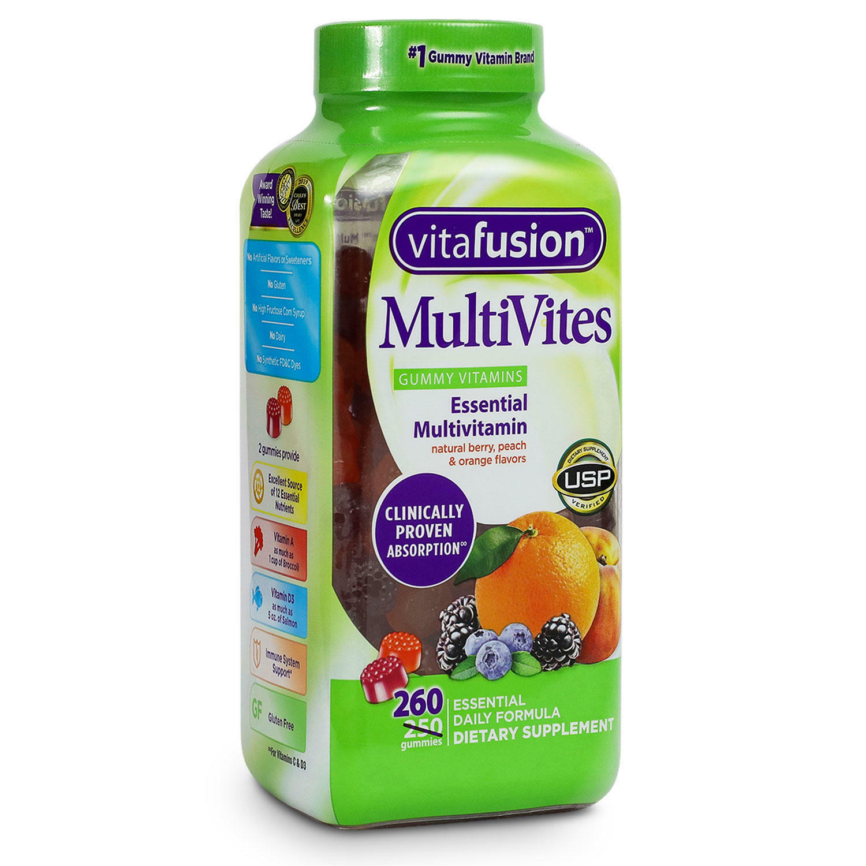 Vitafusion Multivitamin Adult Gummy 260 Ct.  - $17.01