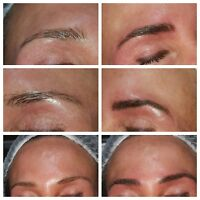 Chemical peels, microdermabrasion, 3dHdIbrows