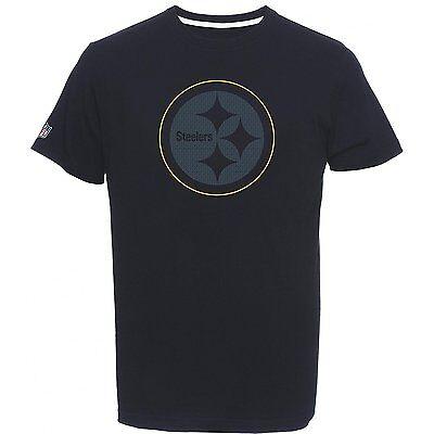 NFL Football T-Shirt PITTSBURGH STEELERS Tanser Majestic schwarz