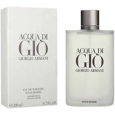 Acqua Di Gio by Giorgio Armani 6.7 / 6.8 oz EDT Cologne for Men Mew In Box
