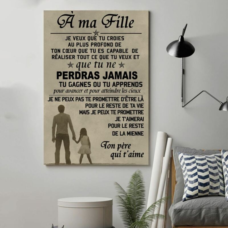 Cv4 Family Poster - To My Daughter France