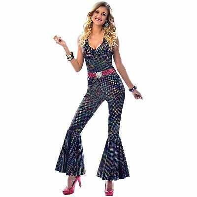 1960s 1970s Disco Diva Hippy Hippie Costume Womens - Disco Diva Outfit