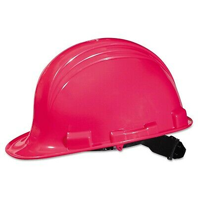 Hot Pink North Safety Peak Hard Hat A79200000 - 4 Point Pin Lock