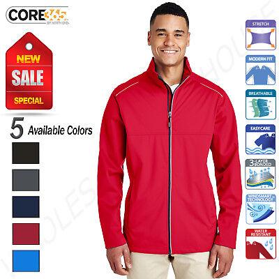 Three Layer Jacket - Core 365 Men's Techno Lite Three Layer Knit Tech-Shell S-XL Jacket R-CE708