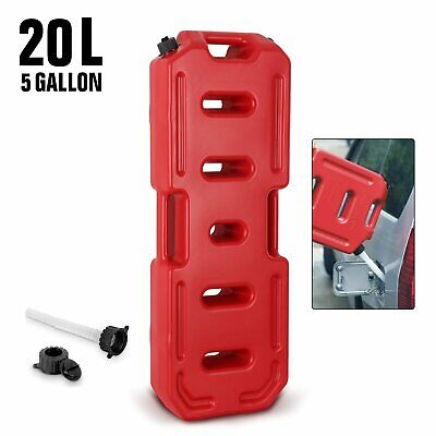 20l 5gallon Fuel Tank Jerry Can Emergency Backup Gas Container Universal