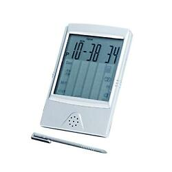 Natico Clock With Touch Screen Control Calculator