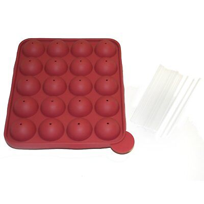 Norpro Cake Pop Pan Silicone with 20 Sticks Bite Size Brownie/Donuts/Treats 3602