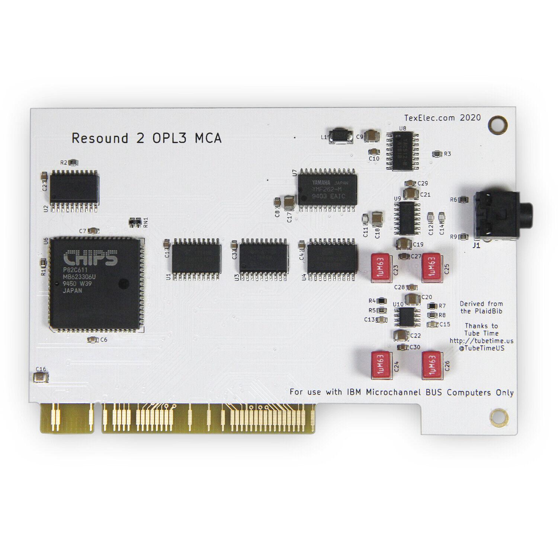 TexElec Resound 2 OPL3 MCA Adlib Compatible Card for IBM PS/