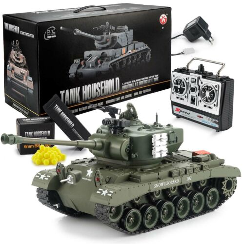 Ferngesteuerter RC Panzer M26 Pershing US Snow Leopard R/C Modellbau 1/16 RTR