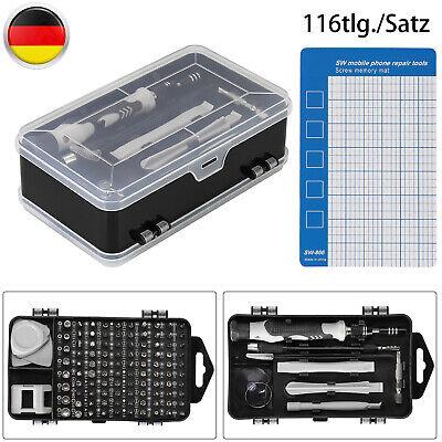 115 In 1 Mini Feinmechaniker Schraubendreher Werkzeugset Für PC Handy Brillen