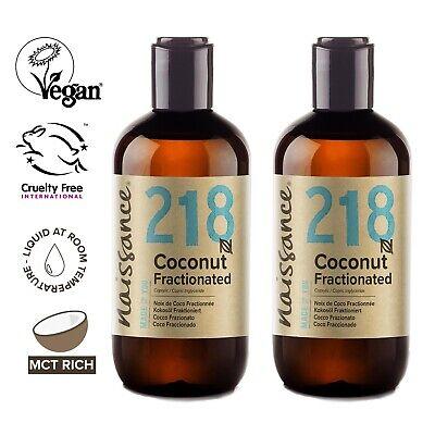 Naissance Kokosöl fraktioniert - 500ml (2x250ml) - Trägeröl für Haut und Haare