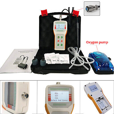 Dissolved Oxygen Tester Do Detector Water Quality Meter Monitor Combo Meter