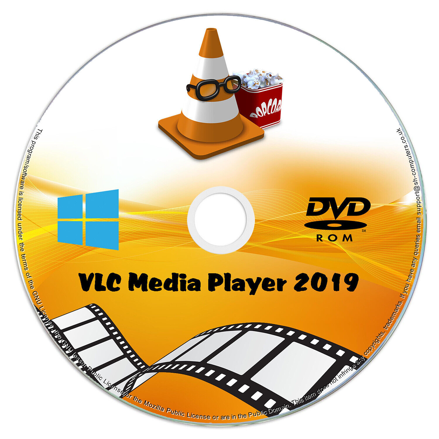 VLC Media Player 2019 SOFTWARE - Play Any Video / DVD / Music / Audio Windows