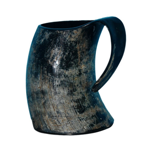 Real Ox Horn Viking Drinking Mug Cups Ale Beer Wine Goblet Tankard Mead Size 6