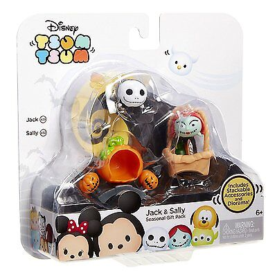 Tsum Tsum Nightmare Before Christmas Jack & Sally Seasonal Gift Pack #390321