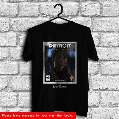 Custom Detroit Become Human T Shirts Men Women T Shirt Gildan Tee
