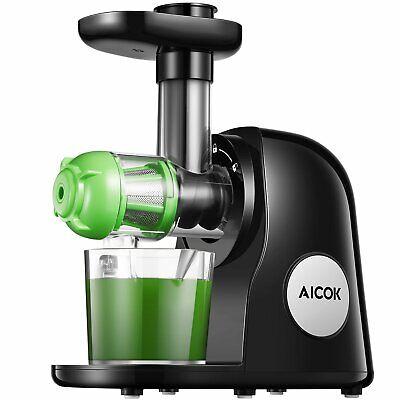Kaltpressung Entsafter Saft Maschine Slow Juicer BPA Frei Obst Kältepresse