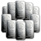 1 oz Sunshine Silver Bars - Lot of 10 - SKU #81530
