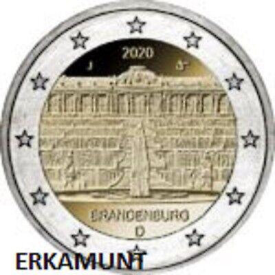 5x2 euro Duitsland Brandenburg  2020   VVK