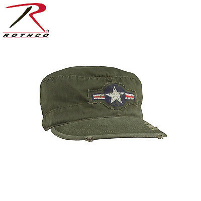 Rothco 4539 Mens Military Hat - Vintage Army Air Corp Fatigue Cap Olive Drab Air Corp Fatigue Cap