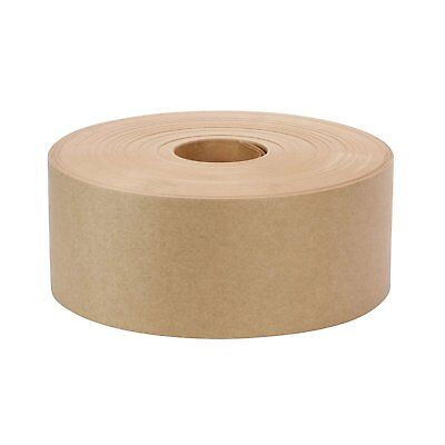 Rok 3 X 600 Gummed Paper Water Activated Carton Box Kraft Packaging Ship Tape